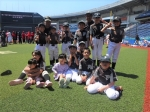 第19回千葉市低学年大会総合開会式&ティーボール大会に参加